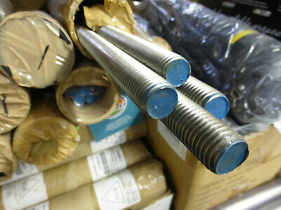 """7/8""""-9 x 1 ft. 304 stainless steel threaded rod..**package of 4**"""