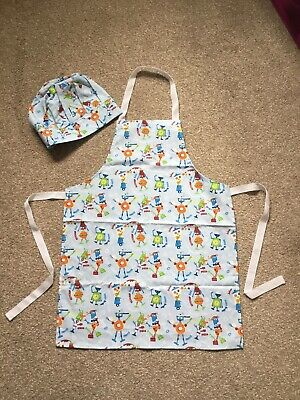 Childrens Cooking Apron Set - Brand New