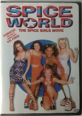 Spice World (DVD, 1998, Closed Caption) Region 1
