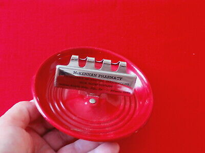 VINTAGE ASH TRAY~ McKENNAN PHARMACY~PITTSBURGH JENKINS ARCADE ~ COLLECTABLES