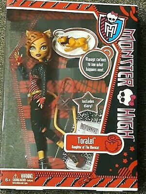 TORALEI Monster High doll Sweet Fangs sabretooth tiger pet First Wave 1 1st NIB
