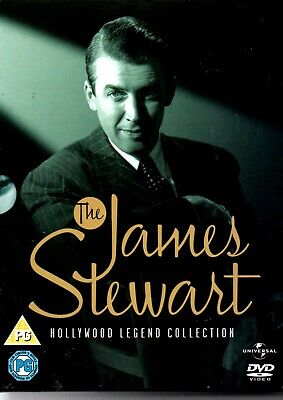 James Stewart Collection (DVD-5-Disc Set, Box Set)vertigo-rear window-CLASSIC