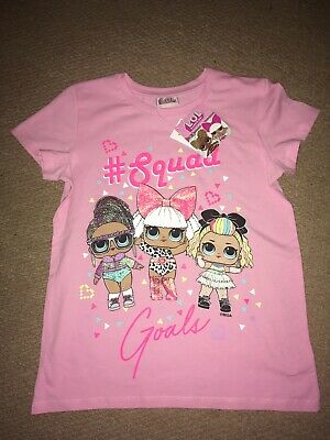 Girls Lol Surprise T-Shirt Age 10 Years Bnwt