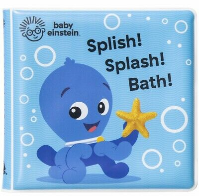 Cute Baby Bath Time Book Kids Water Play Fun Toys Child Gift Girls Boys Years