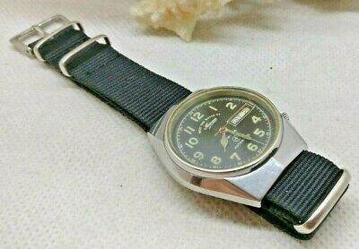 Vintage Military West End Watch Swiss Automatic