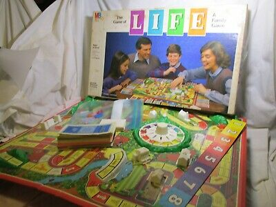 1985 Game of Life by Milton Bradley Complete