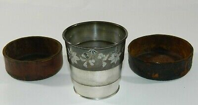 Vintage Poole Silver Co Collapsible 246 Cup Antique Taunton, Mass Mint Julep