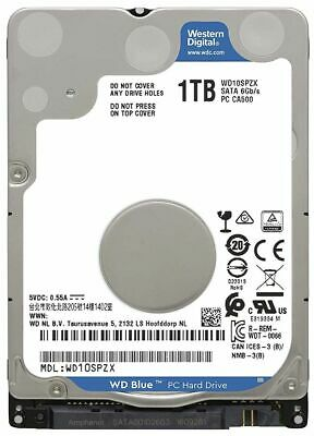 WD 1Tb 7mm SATA 2.5 Laptop/Notebook Internal Thin/Slim HDD Hard Disk Drive *NEW