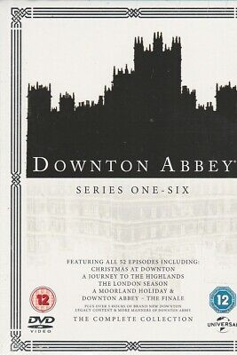 Downton Abbey Complete Collection, series 1-6 (DVD Set) Region 2 Non-US Format