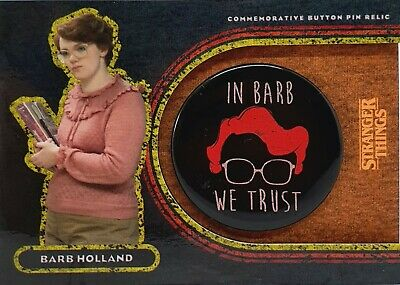2019 Stranger Things Welcome to the Upside Down Barb Holland Patch 47/99 #VP-BB