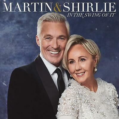 New Audio CD Music Album - In The Swing Of It By Martin & Shirlie 2019 Sealed