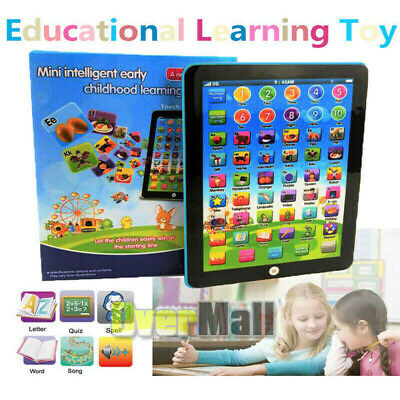 2019 New Educational Toys Gift for Toddlers Baby Kids Boy Girl Learning Tablet