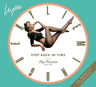 Step Back In Time: The Definitive Collection By Kylie Minogue 3CDs Box Set New