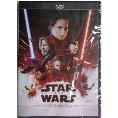 Star Wars: Episode VIII: The Last Jedi (DVD, 2018) Free Fast Ship From US