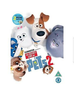 The Secret Life of Pets 2 DVD [Brand New & Sealed]