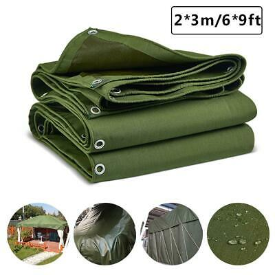Heavy Duty Tarps Waterproof Ground Tent Trailer Cover Tarpaulin Tensile Cover
