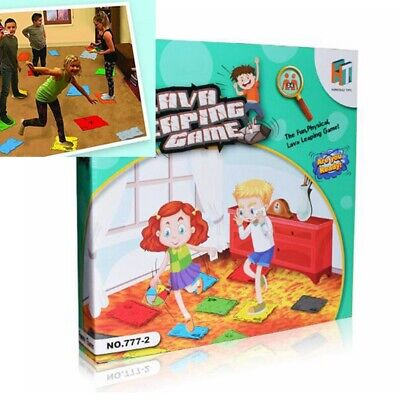 1X The Floor is Lava Interactive Board Game for Kids Adults Gift ( Ages 5+ ) Fun