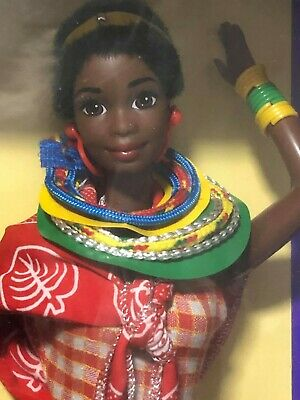 1994 Kenyan Dolls of the World Barbie (Africa) Special Edition, Mattel NEW NRFB