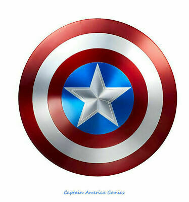 Marvel Legends Captain America 75th Anniversary ngers Shield Alloy Metal NEW