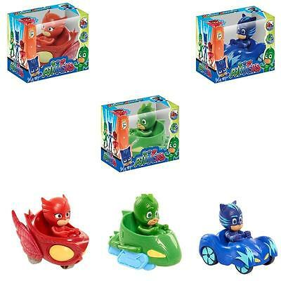 3pcs Pj Masks Characters Catboy Owlette Gekko Action Figure Kids Toy UK STOCK