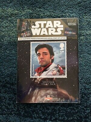 Royal Mail 2019 Star Wars Presentation Pack Mint Stamps & Mini Sheet
