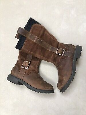 Girls Knee High Timberland Boots Size 13