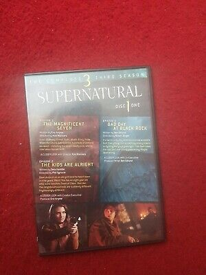 Supernatural The complete third season 3 Series 5 DISC