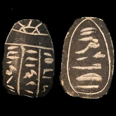 Beautiful Ancient Egyptian Scarab 300 Bc 3)