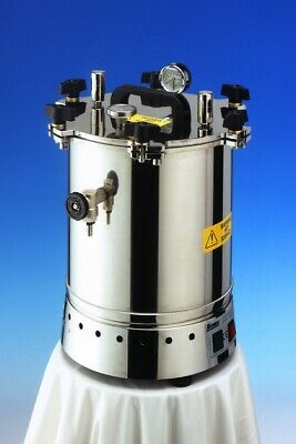 Portable Autoclave - VARIO 15 litre from Rodwell / Dixons Laboratory