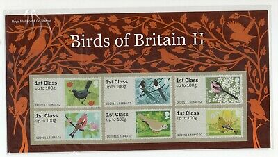 GB 2011 Birds of Britain II (2) Post and Go Presentation Pack VGC stamps