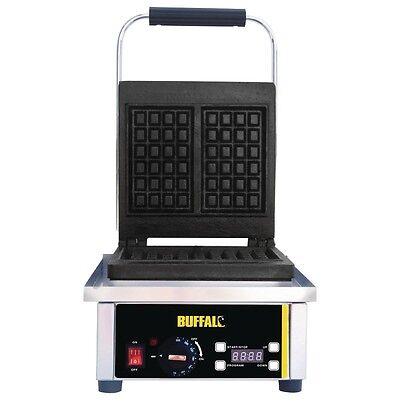 Buffalo Waffle Maker makes 160mm x 100mm Waffles - GF256 Commercial
