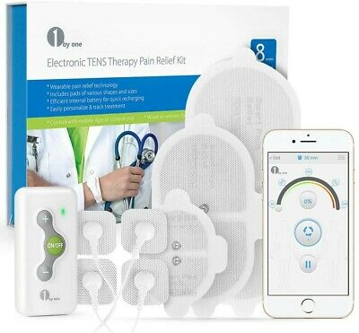 Tens Machine 1byone Wireless TENS Therapy Muscle Stimulator For Fast Pain Relief