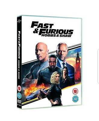 Fast & Furious Presents: Hobbs & Shaw [DVD]  - new and sealed