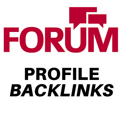 1000 forum profiles backlinks. Just £1.47 Limited Time Offer!