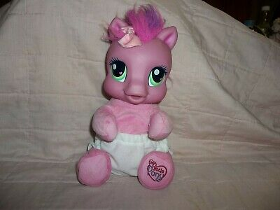 My Little Pony talking toy, press foot and she talks