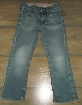 H&M Jeans Denimjeans Hello Kitty  Kinder  Hose  Used Look Gr 104