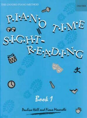 Piano Time Sightreading Book 1 by Pauline Hall 9780193727687 | Brand New