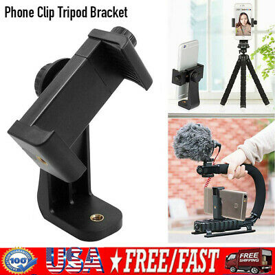 Camera Phone Holder Mount Tripod Bracket Stand Adapter For iPhone XS Max Samsung