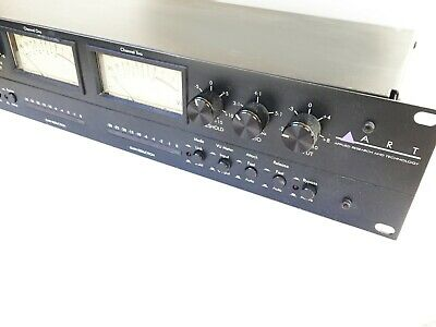 ART PRO VLA Professional Two-Channel Vactrol/Tube Leveling Amplifier Compressor