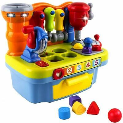 Musical Learning Tool Workbench Work Bench Toy Activity Center for Ki...