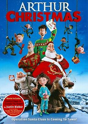 ARTHUR CHRISTMAS DVD FILM MOVIE KIDS XMAS GIFT PRESENT FAMILY FEEL FESTIVE wow
