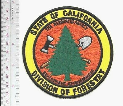 California Division of Forestry /& Fire Prot Fire Patch