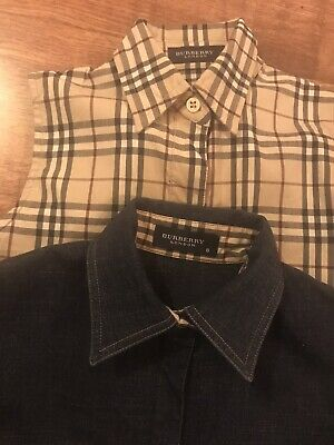 100% Genuine BURBERRY GIRLS OUTFIT Age 6