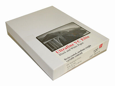 Ultrafine VC ELITE Glossy Variable Contrast RC Paper 5 x 7 / 100 Sheets