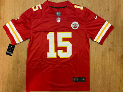 Vapor Limited PATRICK MAHOMES Kansas City Chiefs Jersey Color RED Men's