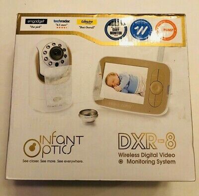 Infant Optics DXR-8 Video Baby Monitor with Interchangeable Optical Lens LIMITED