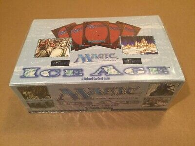 MTG Magic the Gathering Ice Age Factory Sealed Booster Box