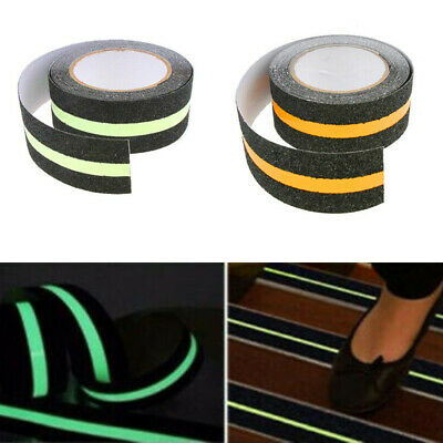 Pack of: 1 Anti-Slip Glowing Strip Safety Tape TAP-NSGL-010