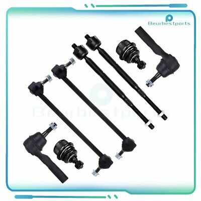 8 x Ball Joint Sway Bar Link Tie Rod Ends Kit Fit For 2009-2010 Dodge Avenger