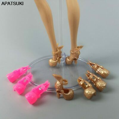 "5pairs Angel Wing High-Heel Dolls Shoes for Barbie Sandals for 11.5"" Accessories"